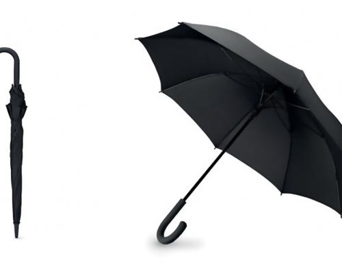 Parapluie tempête Poignée incurvée